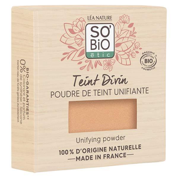 So'Bio Étic Teint Divin Poudre de Teint Unifiante Bio N°15 Vanille Rosé 8g