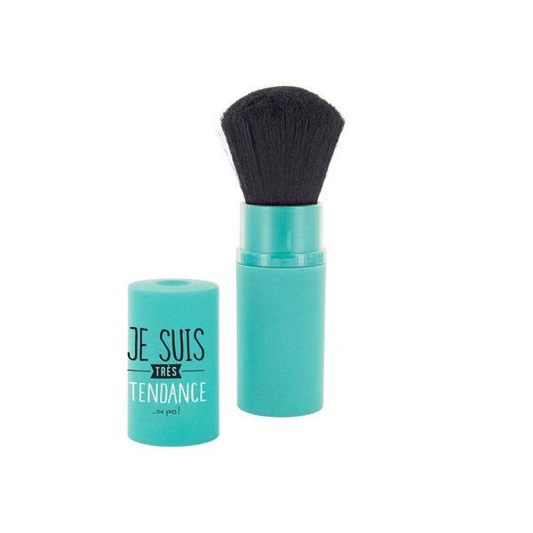 Lysse Make Up Pinceau Blush Rétractable Bleu