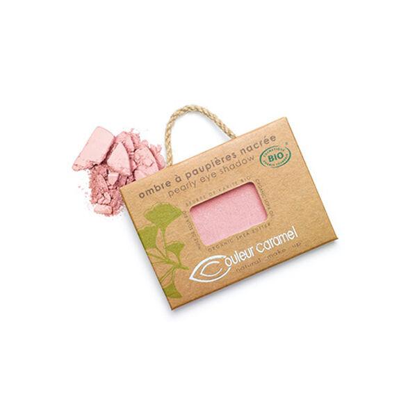 Couleur Caramel Ombre à Paupières Bio N°097 Rose Pétillant Nacré 2,5g