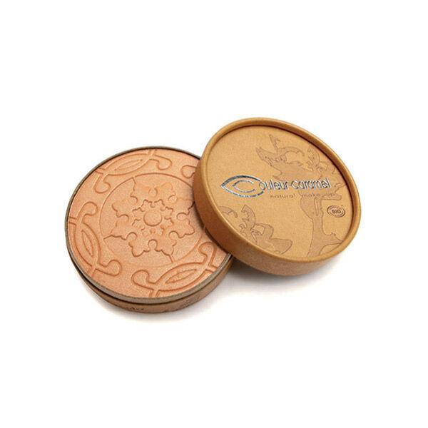 Couleur Caramel Bio Terre Caramel Poudre Compacte n°22 Brun Orangé Nacré 8,5g