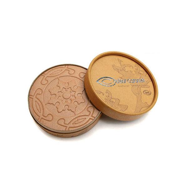 Couleur Caramel Bio Terre Caramel Poudre Compacte n°23 Brun Beige Nacré 8,5g