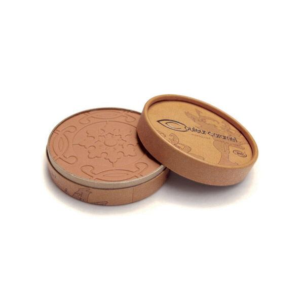Couleur Caramel Bio Terre Caramel Poudre Compacte n°27 Brun Orangé Mat 8,5g