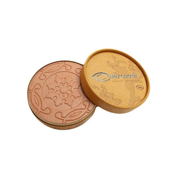 Couleur Caramel Bio Terre Caramel Poudre Compacte n°28 Hâlé Nacré 8,5g