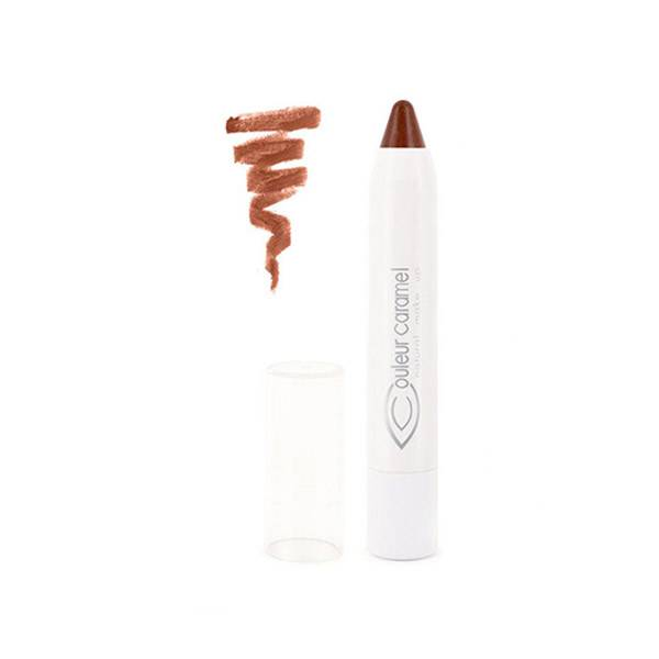 Couleur Caramel Twist & Lips Crayon à Lèvres Bio N°409 Brun Naturel 3g