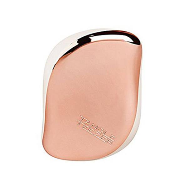 Tangle Teezer Brosse à Cheveux The Compact Styler Rose Gold Cream
