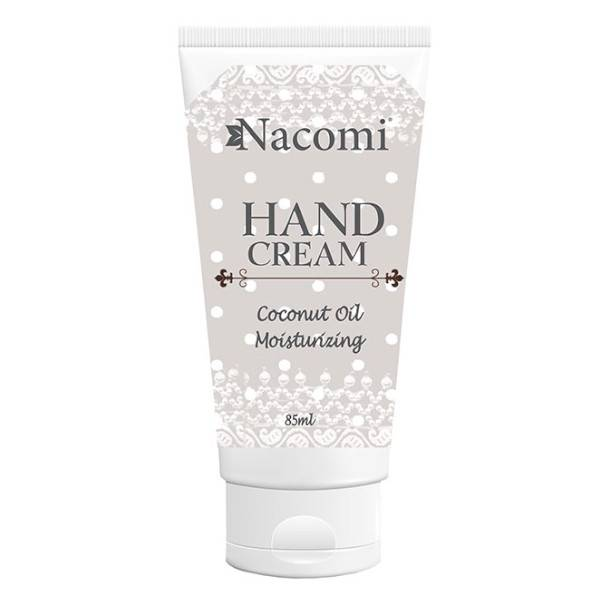Nacomi Crème Mains Hydratante Huile de Coco 85ml