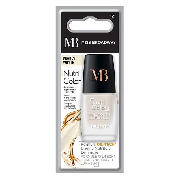 MB Milano Ongles Vernis Blanc Perlé 8ml