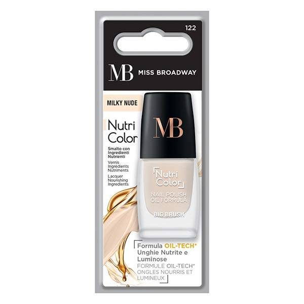 MB Milano Ongles Vernis Nude Blanc 8ml