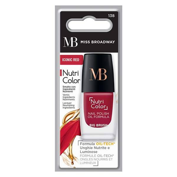 MB Milano Ongles Vernis Rouge Iconic 8ml