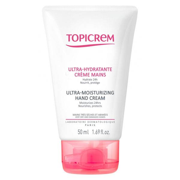 Topicrem Ultra-Hydratante Crème Mains 50ml