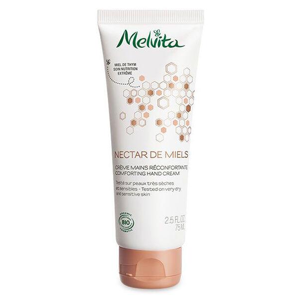 Melvita Nectar de Miels Crème Mains Réconfortante Bio 75ml