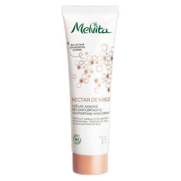 Melvita Nectar de Miels Crème Mains Réconfortante Bio 30ml