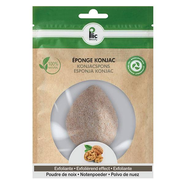 Horizane Plic Beauty Éponge Konjac Exfoliante Visage