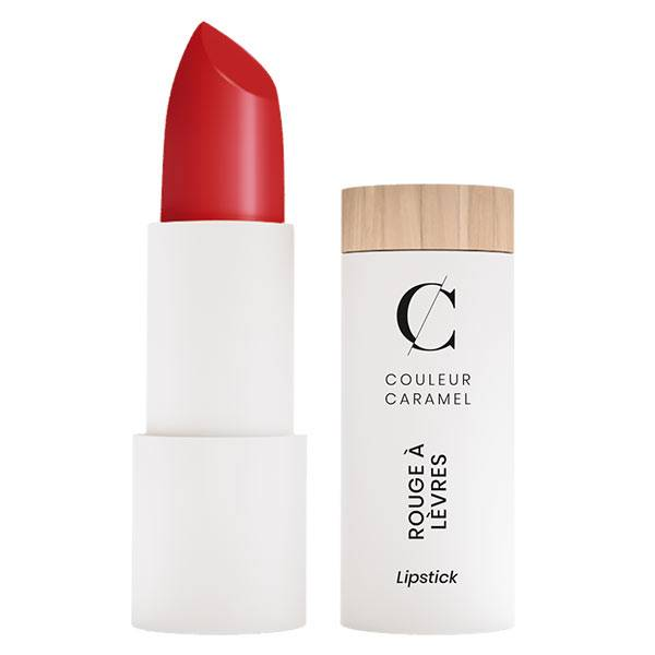 Couleur Caramel Rouge à Lèvres Mat Bio N°122 Rouge Groseille 3,5g
