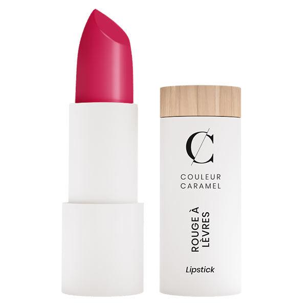 Couleur Caramel Rouge à Lèvres Mat Bio N°123 Rose Vif 3,5g