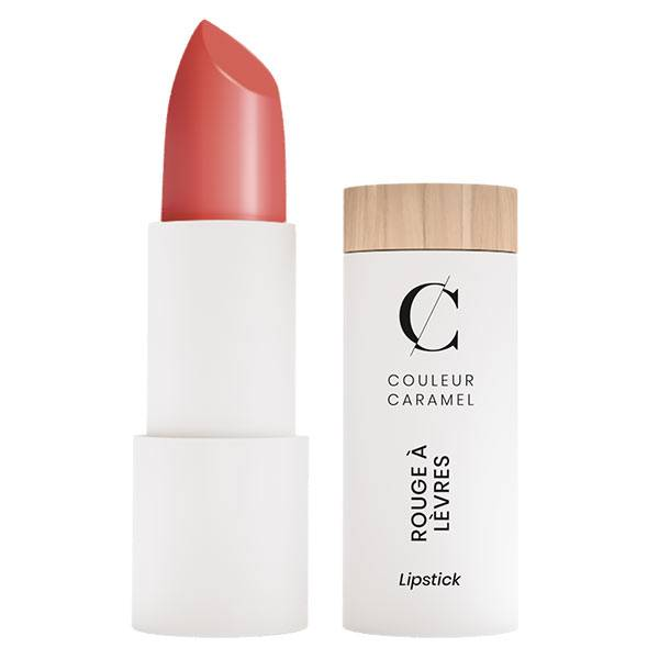 Couleur Caramel Rouge à Lèvres Satiné Bio N°261 Rose Gourmand 3,5g