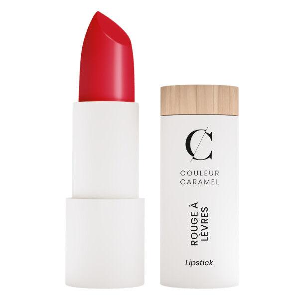 Couleur Caramel Rouge à Lèvres Satiné Bio N°280 Vrai Rouge 3,5g