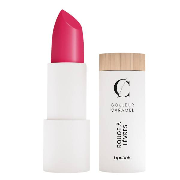 Couleur Caramel Rouge à Lèvres Glossy Bio N°502 Rose Flash 3,5g