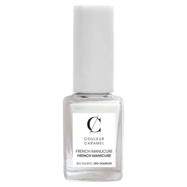 Couleur Caramel Vernis à Ongles French Manucure Bio N°01 Blanc 11ml