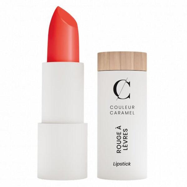 Couleur Caramel Rouge à Lèvres Satiné Bio N°298 Corail Orangé 3,5g