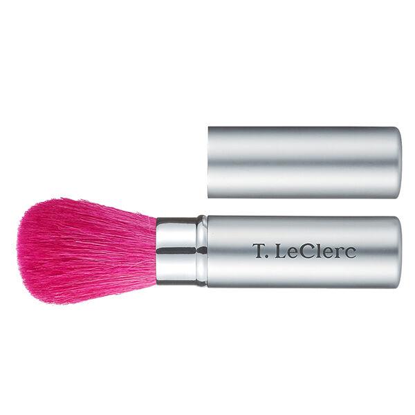 T-LeClerc Pinceau Poudre Rétractable Rose