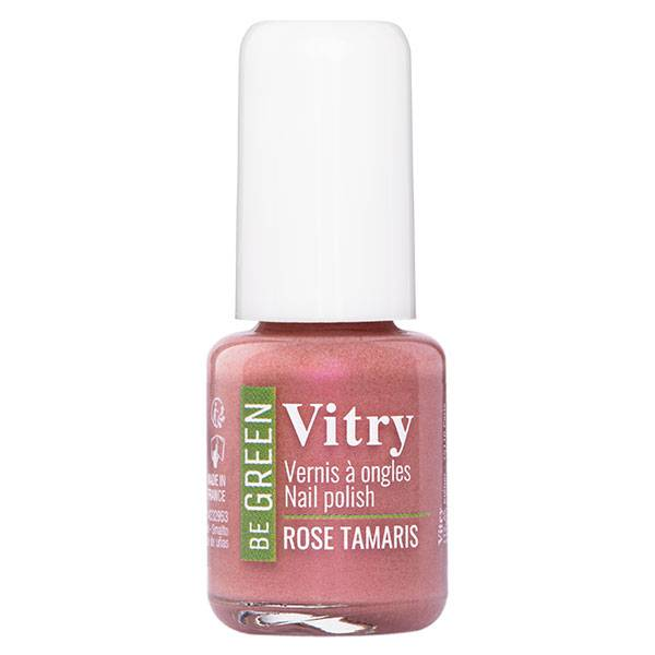 Vitry Be Green Vernis à Ongles N°044 Rose Tamaris 6ml