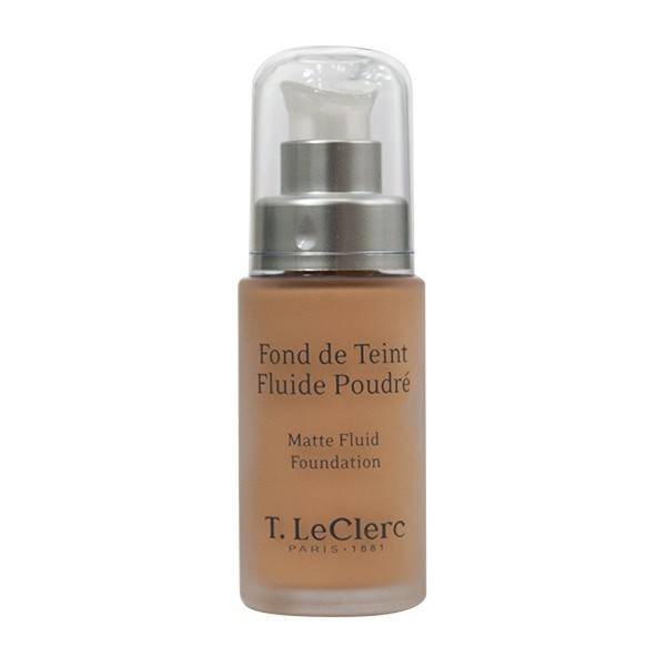 T-LeClerc Teint Fond de Teint Fluide Poudré SPF15 N°04 Beige Abricoté Mat 30ml
