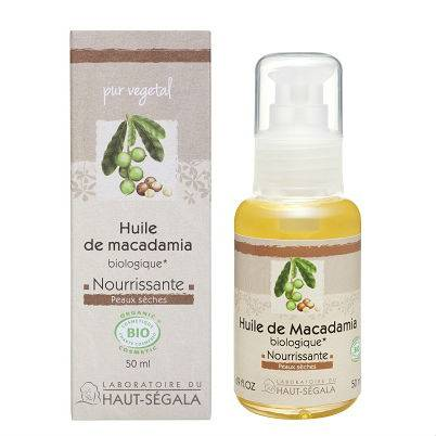 Haut Ségala Haut-Ségala Les Huiles Végétales de Macadamia Vierge Biologique 50ml