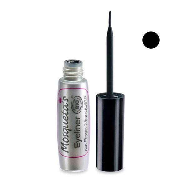 Mosqueta's Eye Liner Noir à l'Huile de Rose Musquée 5ml