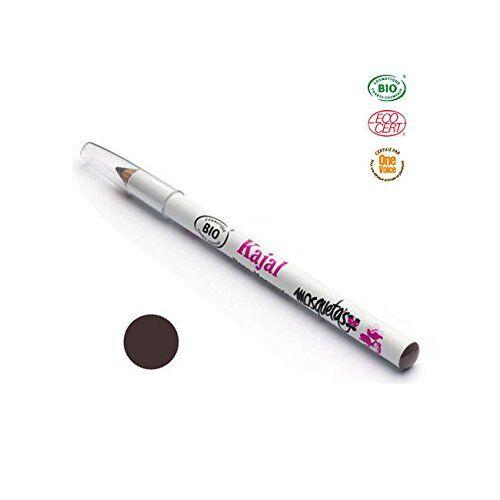 Mosqueta's Crayon Yeux Khajal Brun à la Rose Musquée Bio 1,14g