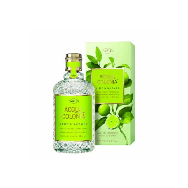 4711 Acqua Colonia Eau de Cologne Citron Vert et Noix de Muscade 170ml