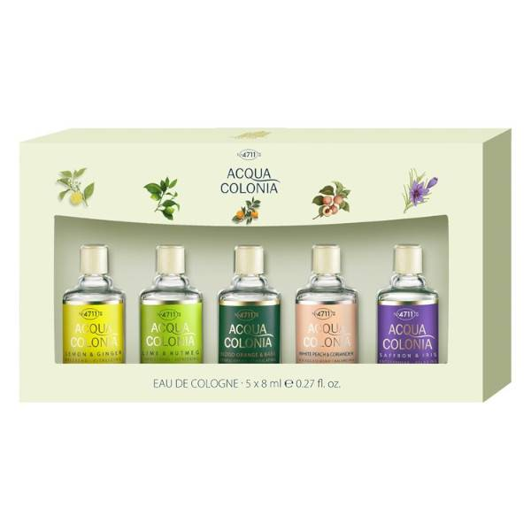 4711 Acqua Colonia Coffret Collection Eau de Cologne 5 x 8ml
