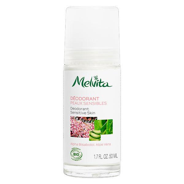 Melvita Les Essentiels Déodorant Peaux Sensibles Bio 50ml