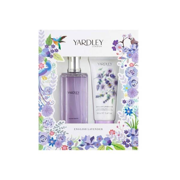 Yardley Coffret English Lavender Eau de Toilette 125ml + Lait Corps 100ml