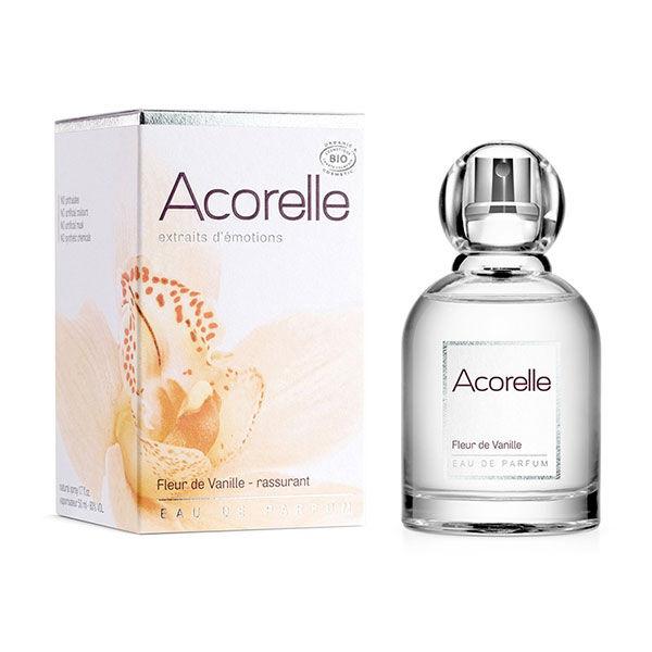 Acorelle Eau de Parfum Bio Fleur de Vanille Rassurant 50ml