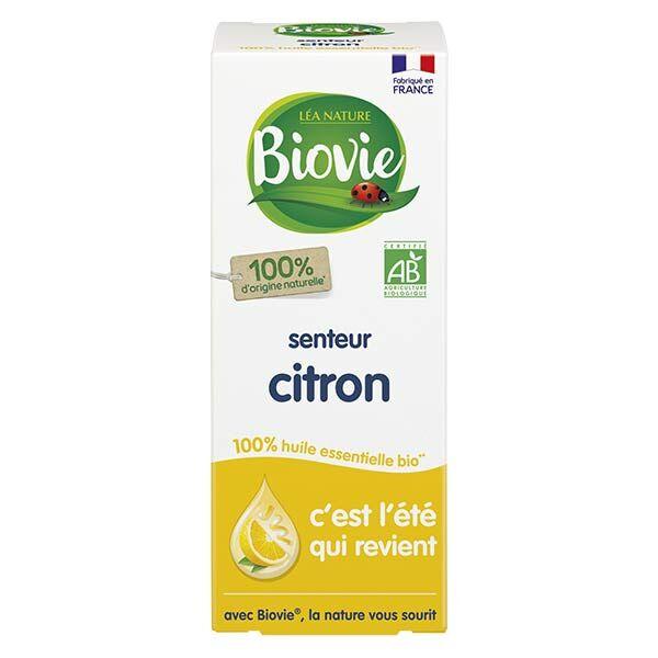 Biovie Huile Essentielle Senteur Citron Bio 10ml