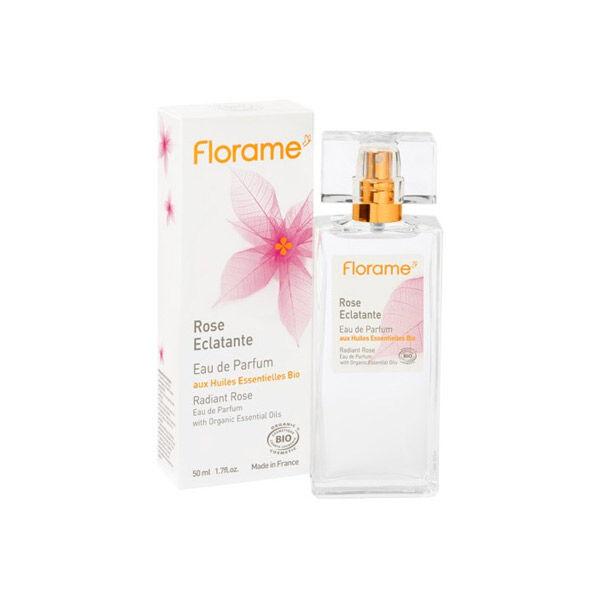 Florame Parfum Eau de Parfum Rose Éclatante Bio 50ml