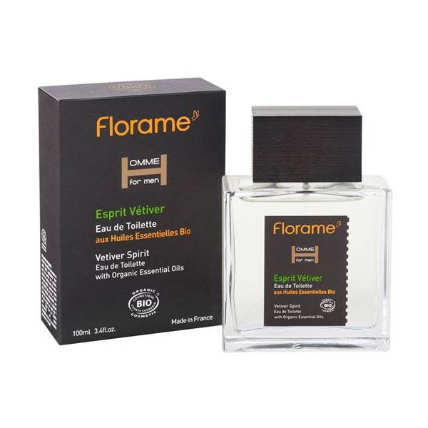 Florame Homme Eau de Toilette Vetiver 100ml