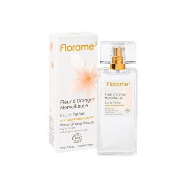 Florame Parfum Eau de Parfum Fleur d'Oranger Merveilleuse Bio 50ml