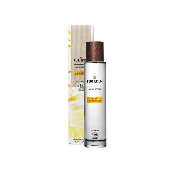 Pur Eden Eau de Parfum Bio Extrait d'Hespérides Pour Elle Pamplemousse Bergamote Thé 50ml