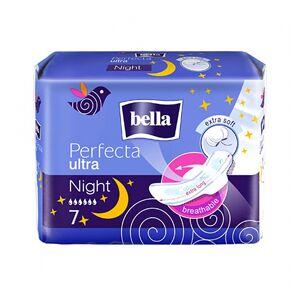 Bella Serviettes Nuit Perfecta Ultra 7 unités - Publicité