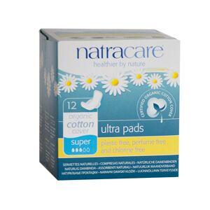 Natracare Serviette Ultra Super à Ailettes 12 unités - Publicité