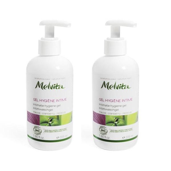 Melvita - Les Essentiels - Gel Hygiène Intime Lot de 2 x 225ml