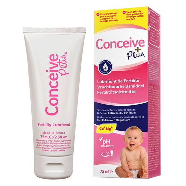 Conceive Plus Lubrifiant Fertilité Gel Intime 75ml