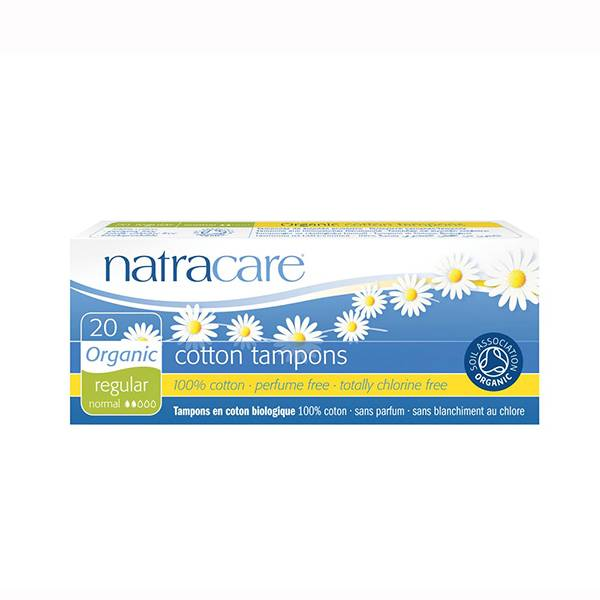 Natracare Tampons Sans Applicateurs Normal 20 unités