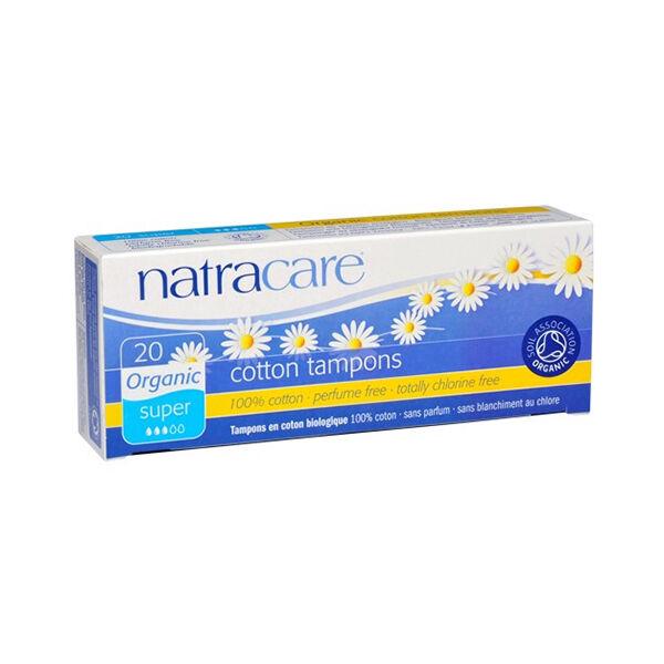 Natracare Tampons Super 20 unités