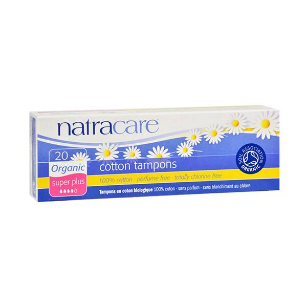 Natracare Tampons Super Plus 20 unités