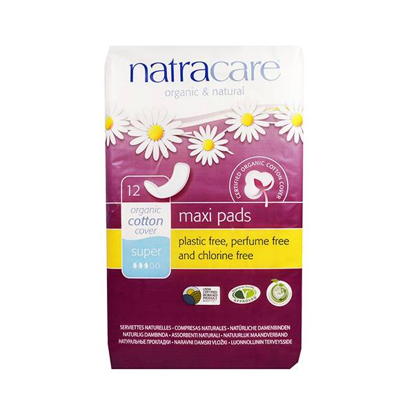 Natracare Serviettes Ultra Extra Super 12 unités