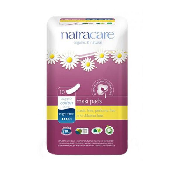 Natracare Serviettes Ultra Extra Nuit 10 unités