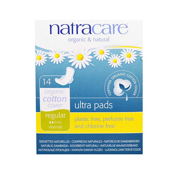 Natracare Serviettes Ultra Normal 14 unités